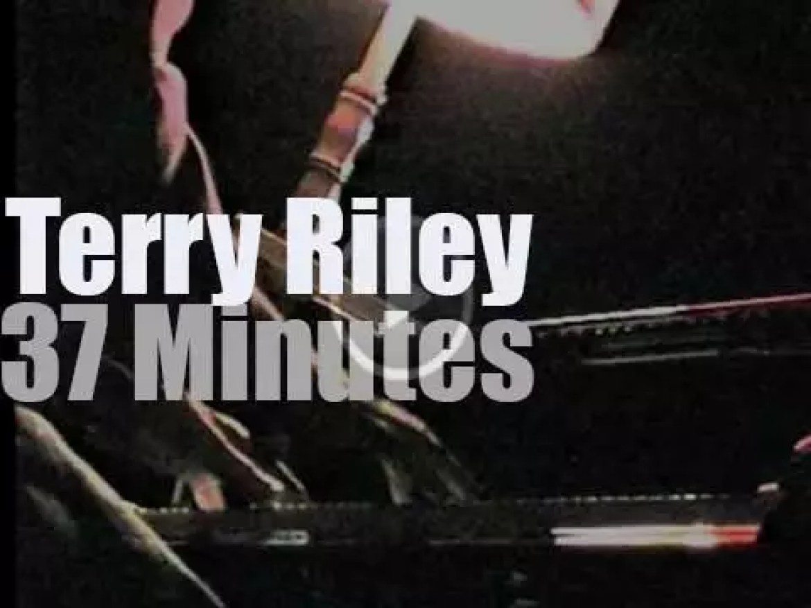 Terry Riley plays in Moscow (2000)