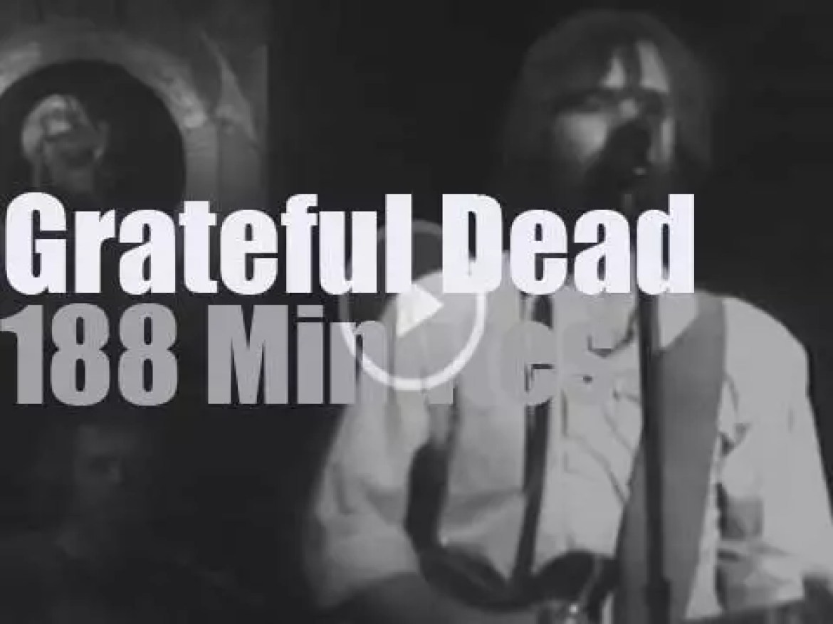 The Grateful Dead spend a third night in New Jersey  (1977)