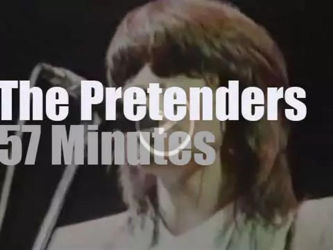 The Pretenders  are live in Detroit (1984)