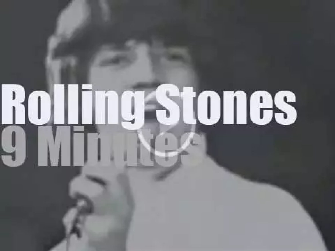 The Rolling Stones at the NME Poll-Winners (1965)