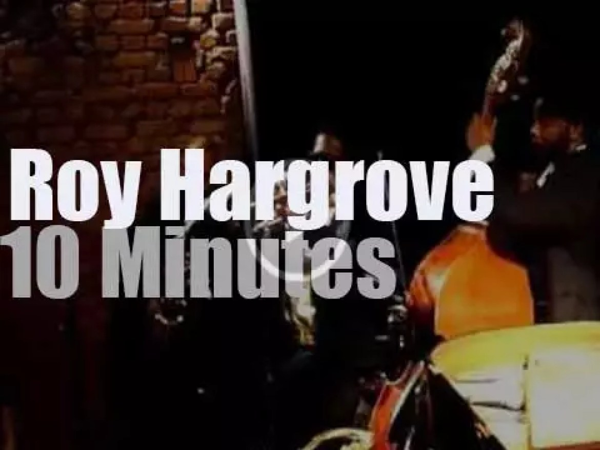 The Roy Hargrove Quintet is in Istanbul (2012)