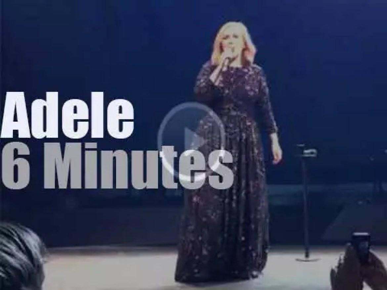 Adele rolls in Denmark (2016)