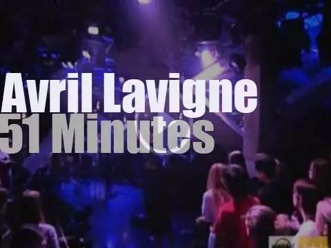 Avril Lavigne is live on Canadian TV (2004) - RVM [Radio Video Music]