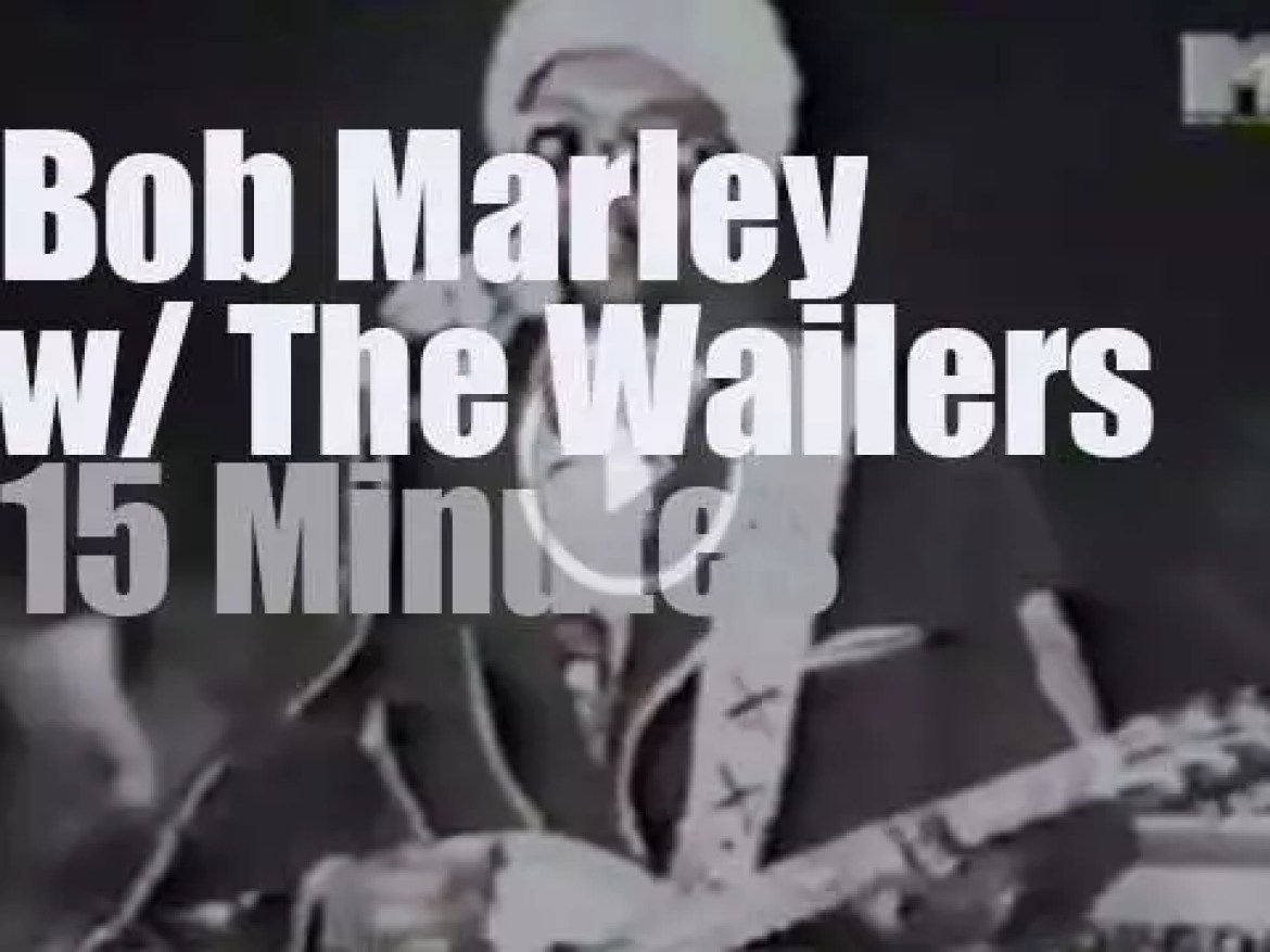 Bob Marley & The Wailers are north of London (1973)