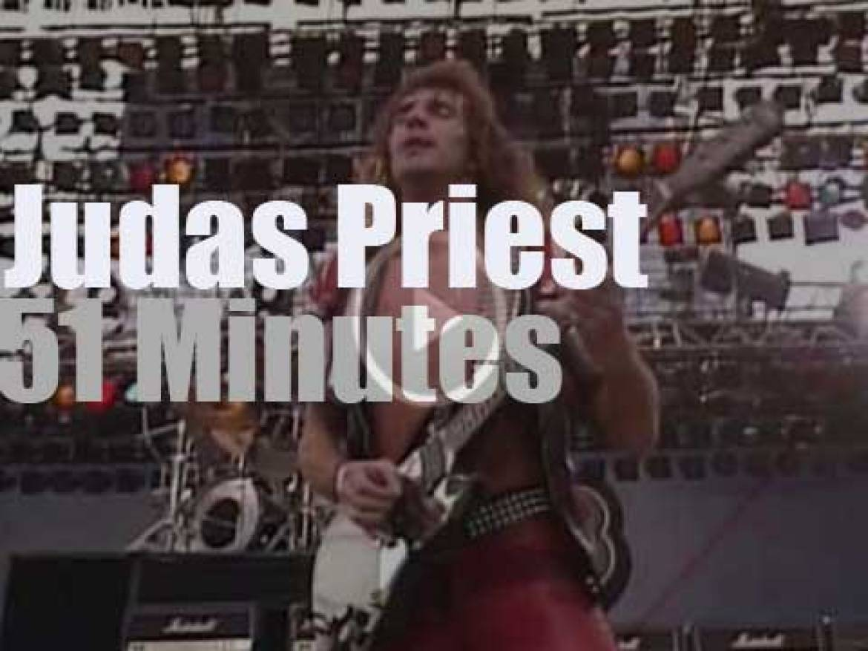 Californian heavy metalists gather for Judas Priest  (1983)