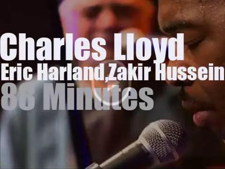 """Charles Lloyd et al are """"sous les Pommiers """" ( 2013)"""