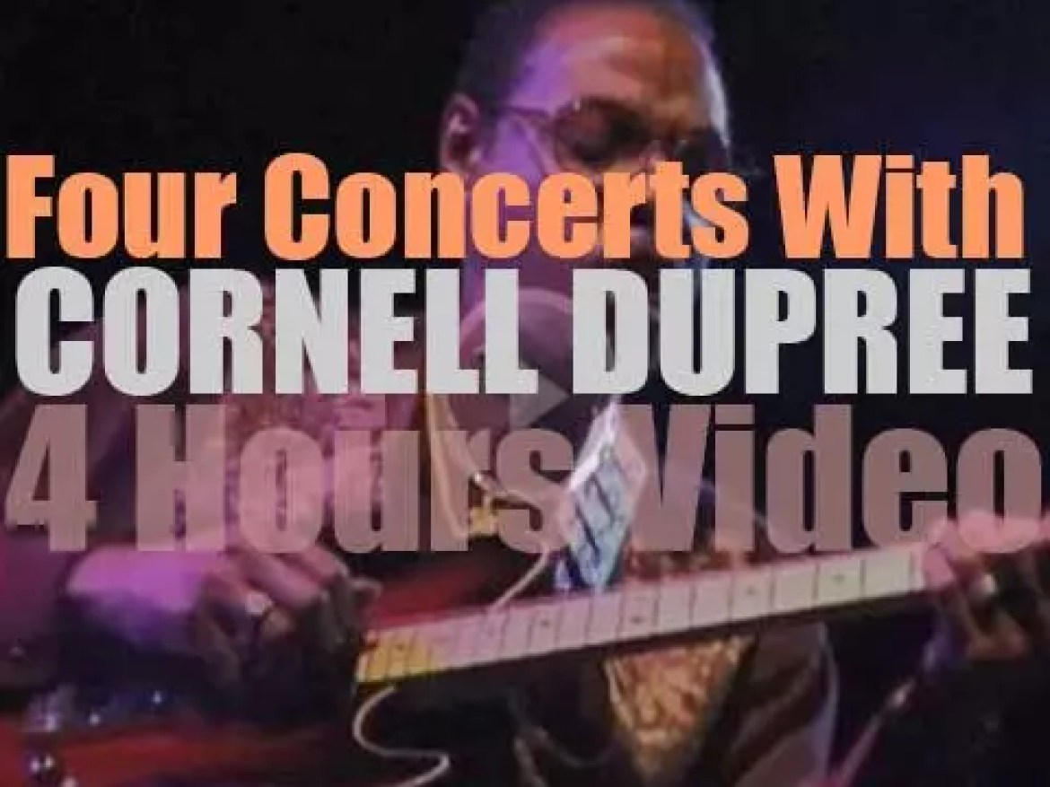 Four Concerts With Cornell Dupree'