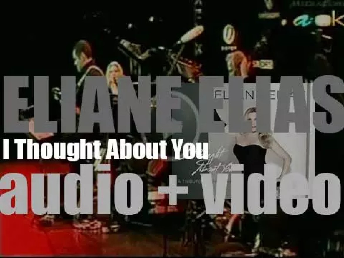 Eliane Elias releases 'I Thought About You' as 'A Tribute to Chet Baker' (2013)