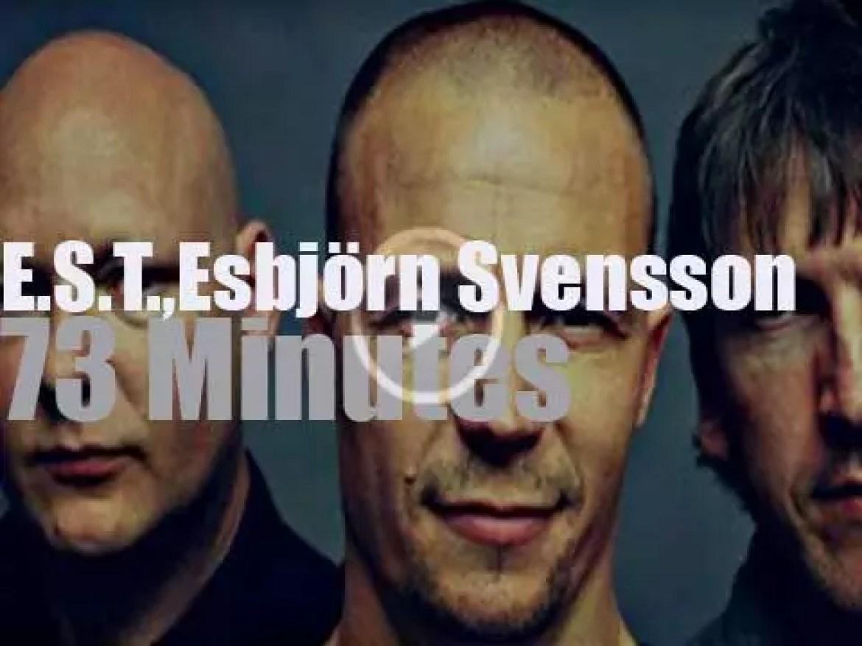 Esbjörn Svensson Trio  is at Jazzwoche Burghausen (2004)