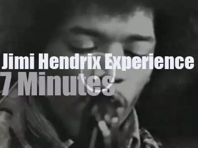 The Jimi Hendrix Experience is on Swedish TV (1967)