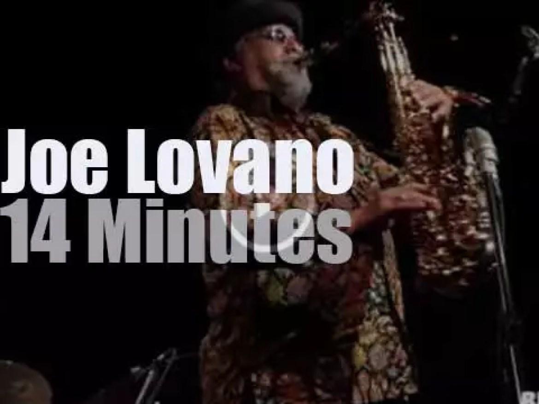 Joe Lovano Classic Quartet is at Blue Note Milano (2016)