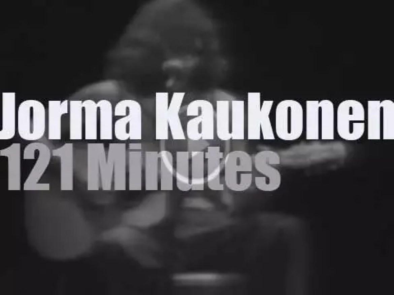 Jorma Kaukonen performs in New-Jersey (1978)