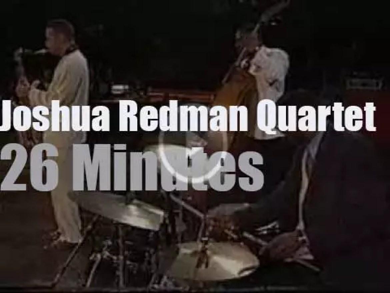 Joshua Redman Quartet plays in Bern, Switzerland (1994)