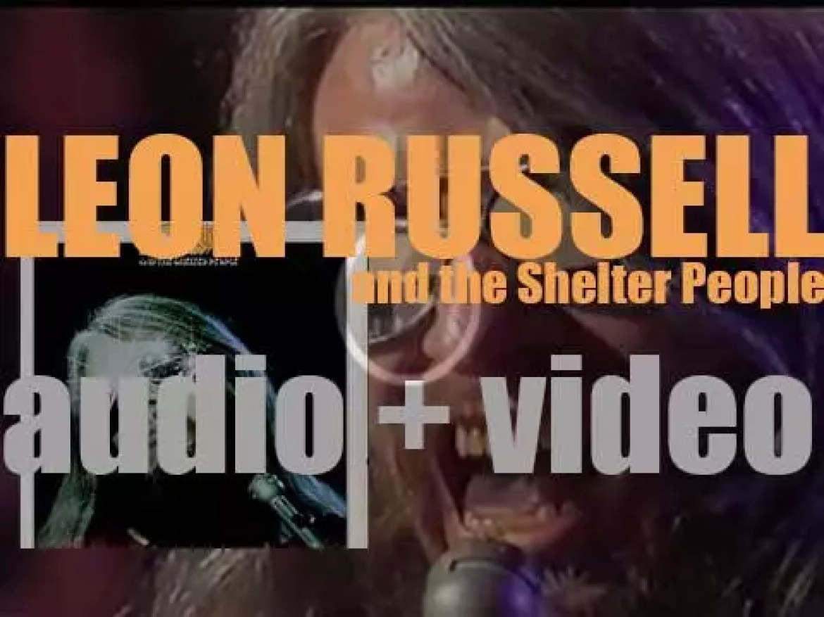 Shelter Records publish 'Leon Russell and the Shelter People' (1971)