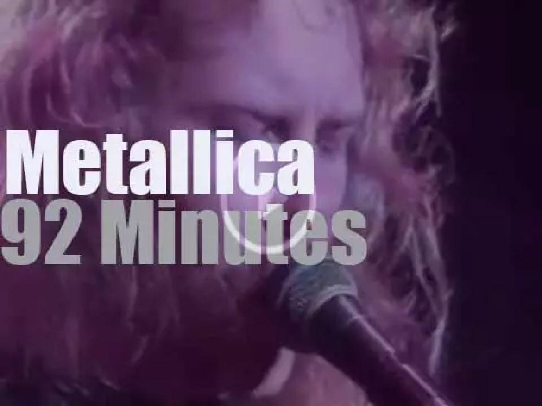 Metallica roam in Buenos Aires (1993)