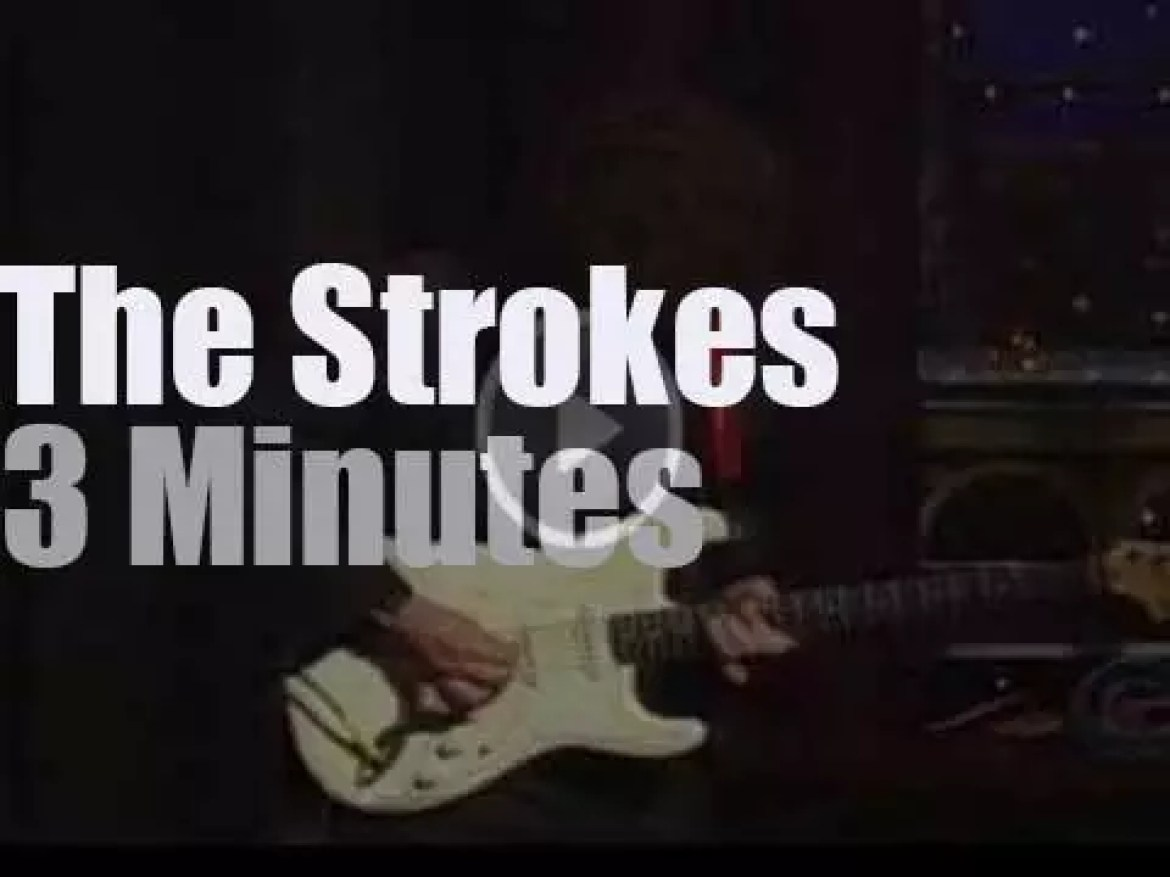 On TV today, Letterman presents the new Strokes (2004)
