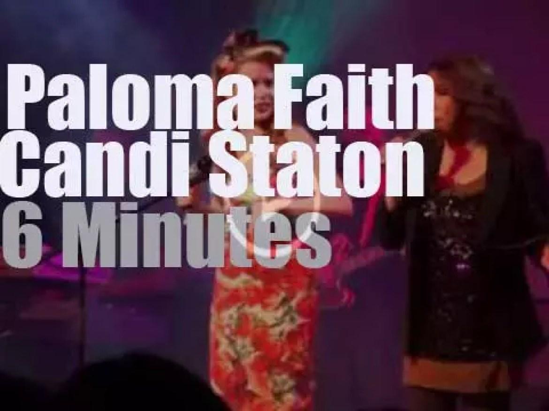 Paloma Faith joins Candi Staton at Cheltenham Jazz festival (2012)