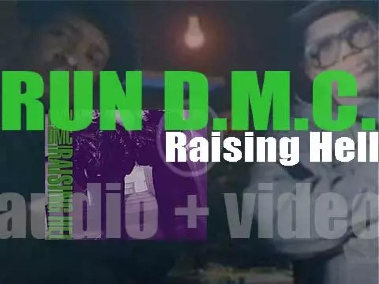 Run–D.M.C. release their third album : 'Raising Hell' featuring 'Walk This Way' with Aerosmith (1986)