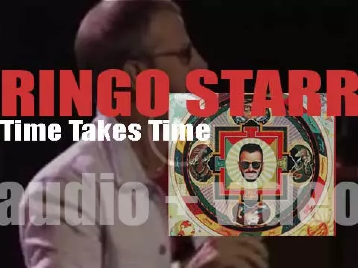 Ringo Starr releases his tenth album : 'Time Takes Time' featuring Brian Wilson, Harry Nilsson and Jeff Lynne (1992)