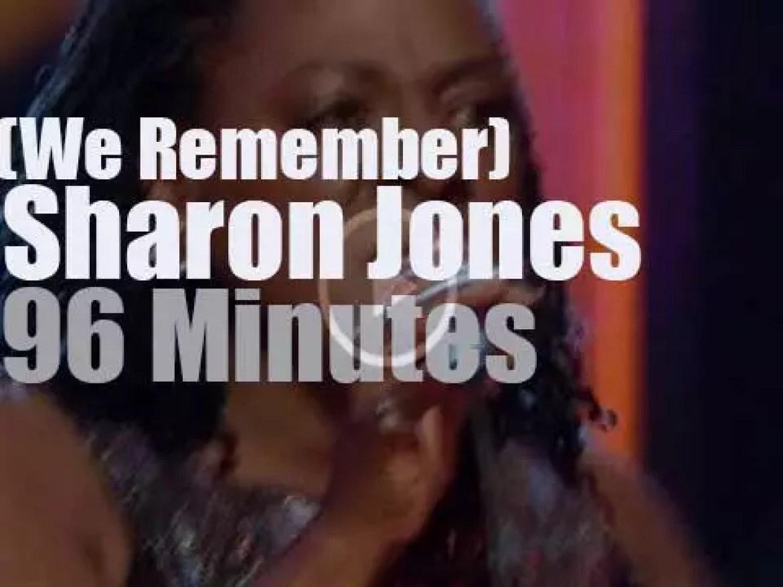 We remember Sharon Jones