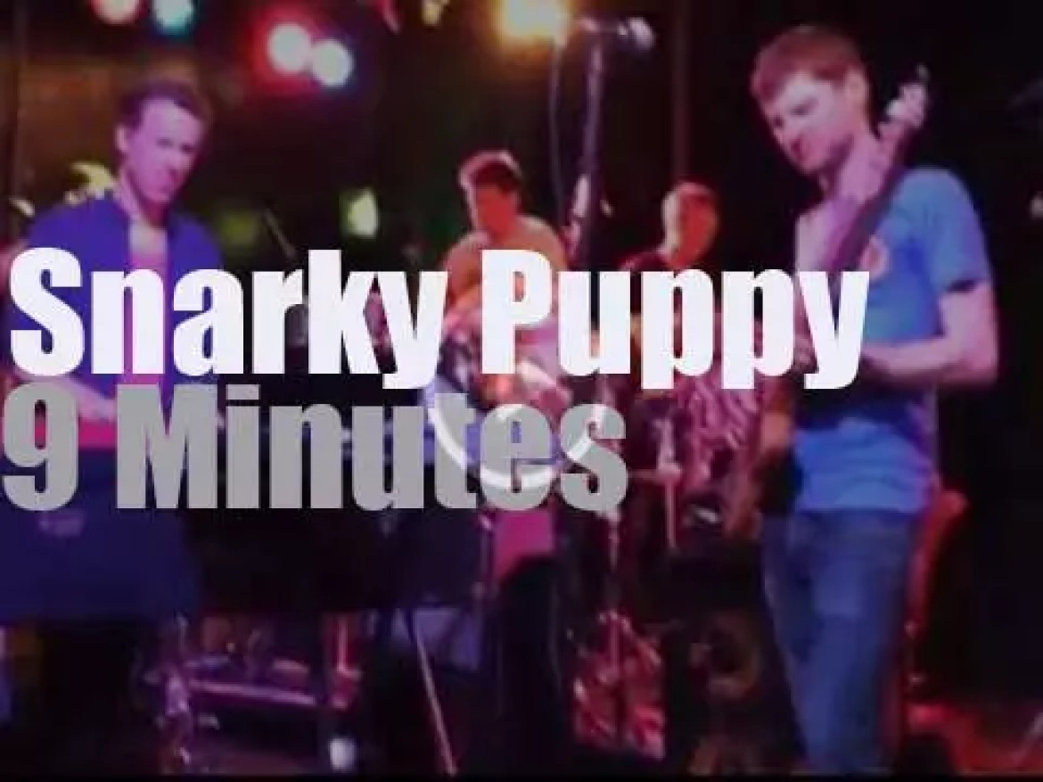 Snarky Puppy, they are in London (2014)