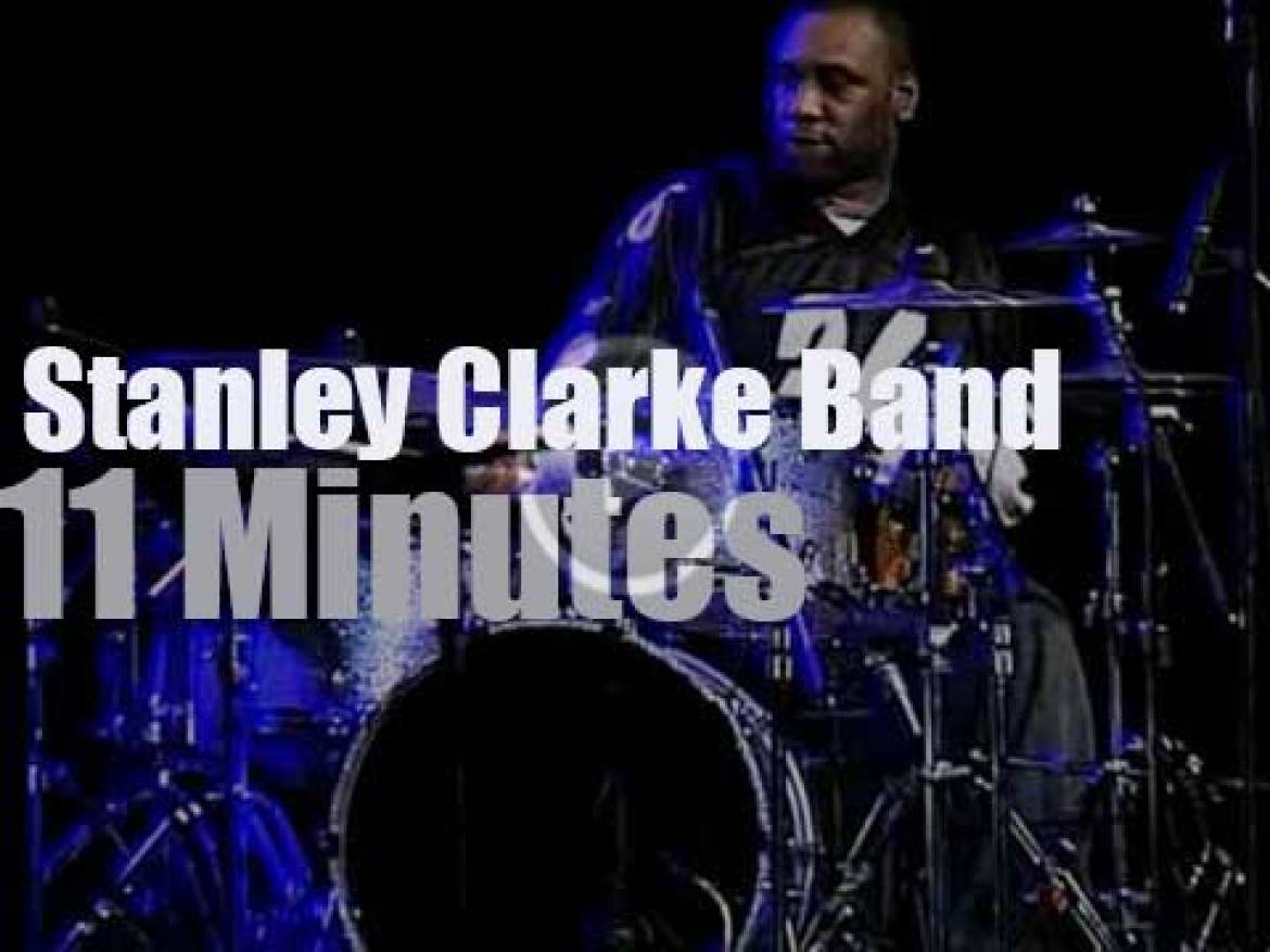 Stanley Clarke Band plays in Bulgaria (2005)