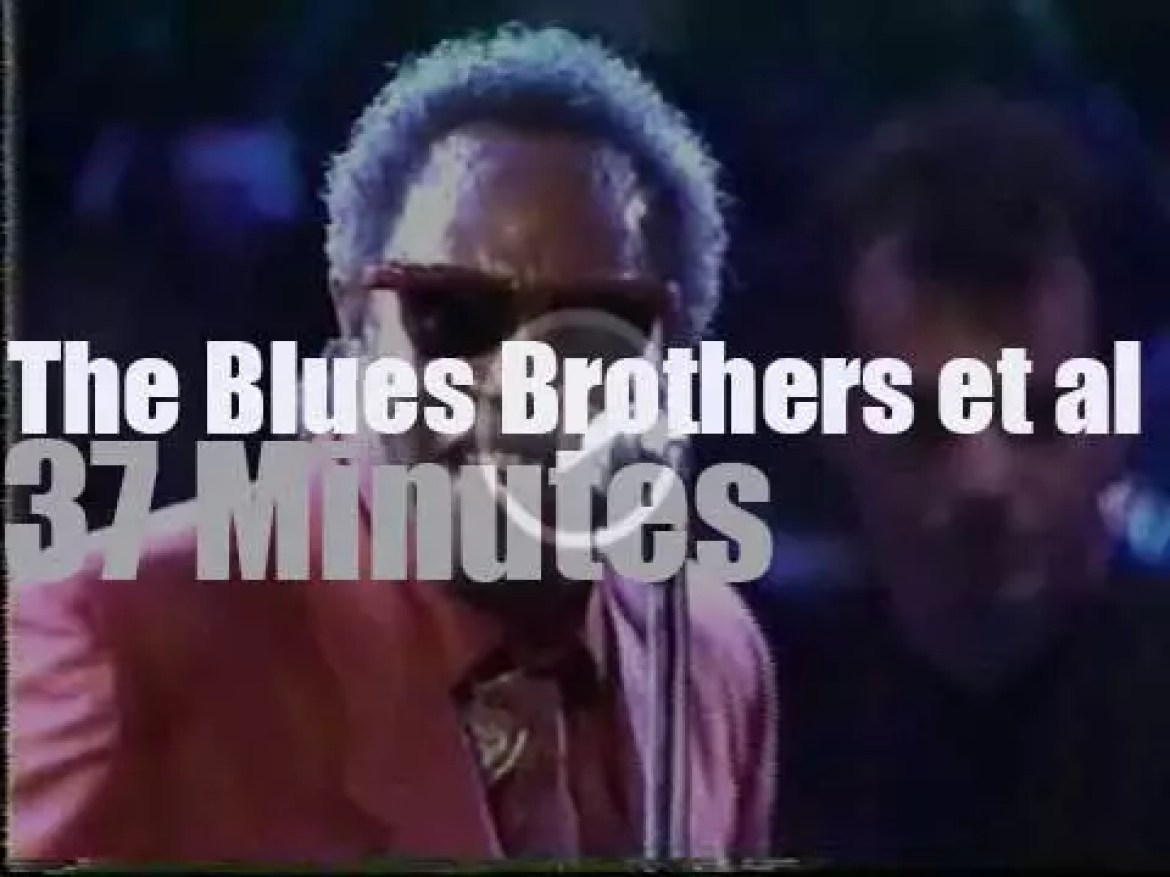 The Blues Brothers Band celebrate Atlantic Records  40th Anniversary (1988)