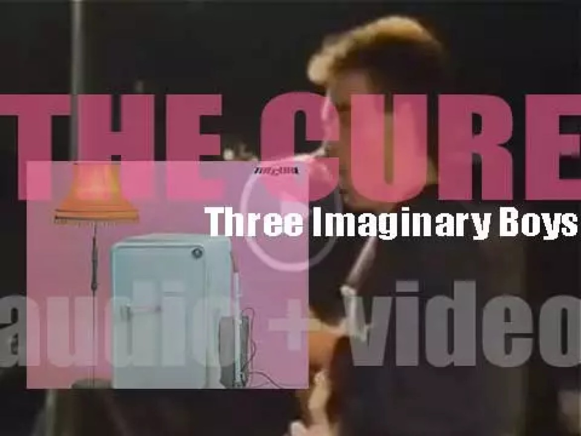 The Cure release 'Three Imaginary Boys,' their debut album on Fiction (1979)