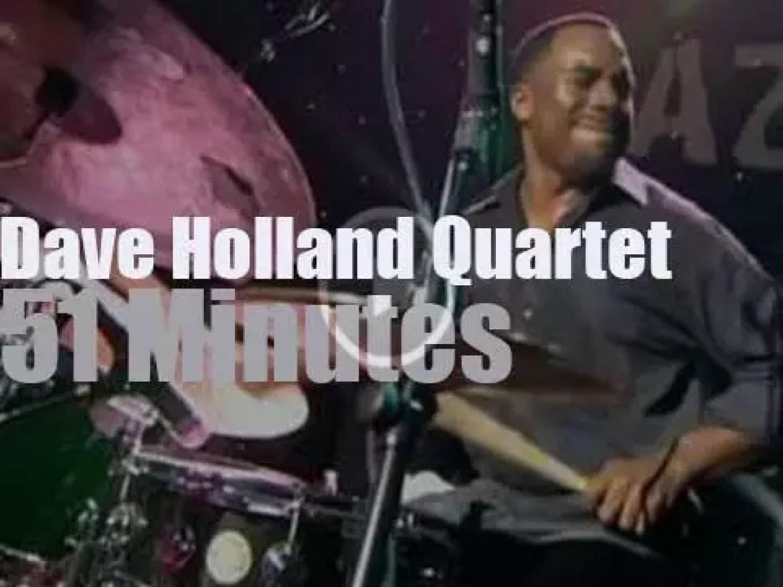 The Dave Holland Quartet is in Belgium (2009)