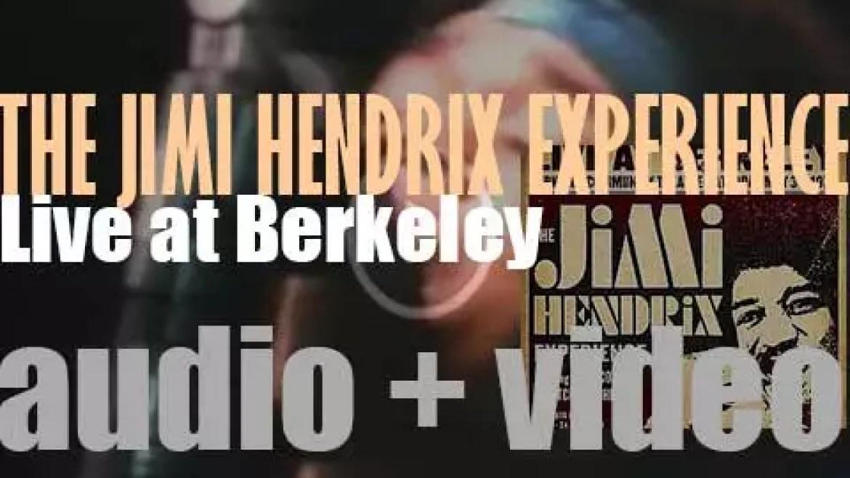 The Jimi Hendrix Experience's 'Live at Berkeley'