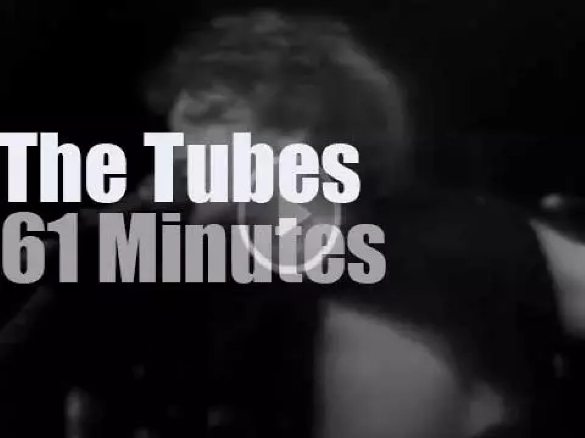 The Tubes are at  Winterland (1974)