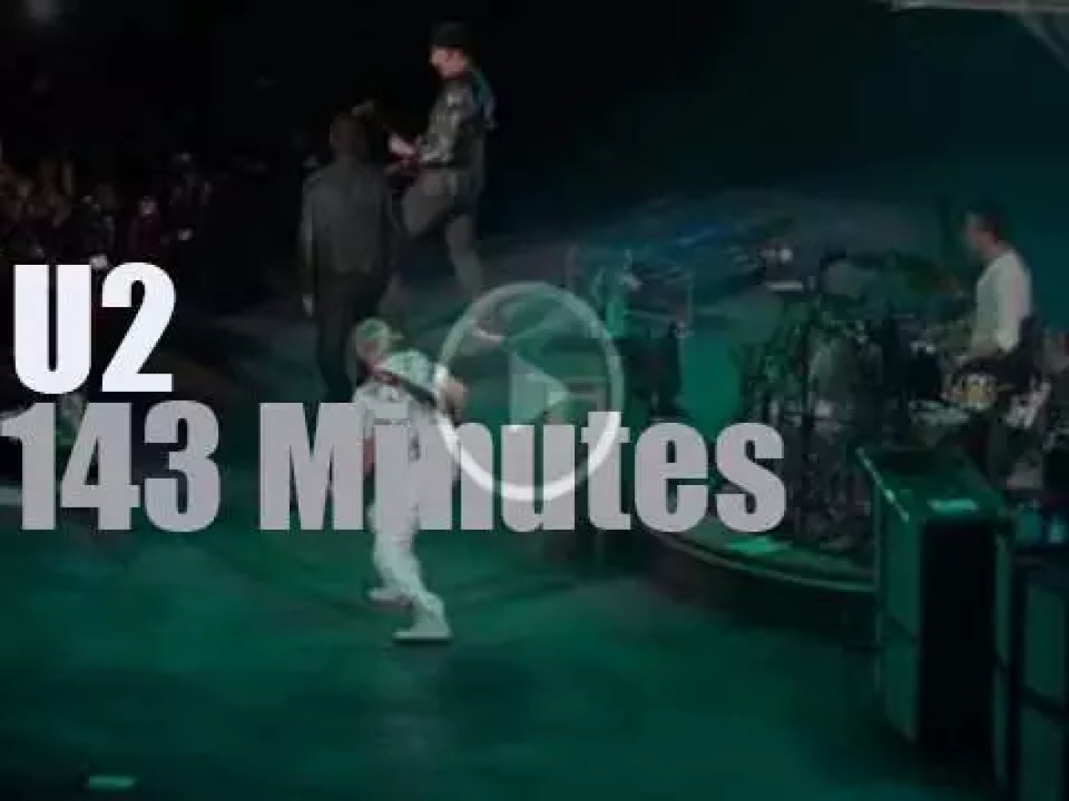 """U2 """"360° Tour"""" is in Mexico City (2011)"""