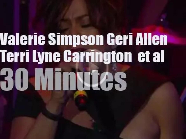 Valerie, Geri & Terri et al attend the Berklee's Commencement Concert (2014)