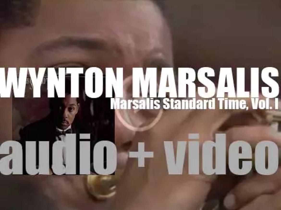 Wynton Marsalis starts the recording of 'Marsalis Standard Time, Vol. 1' with Marcus Roberts on Piano (1986)