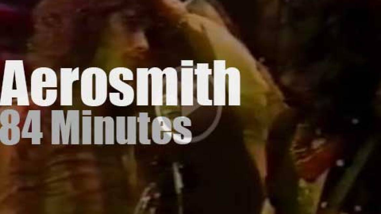 Aerosmith hard rocks Houston (1977)
