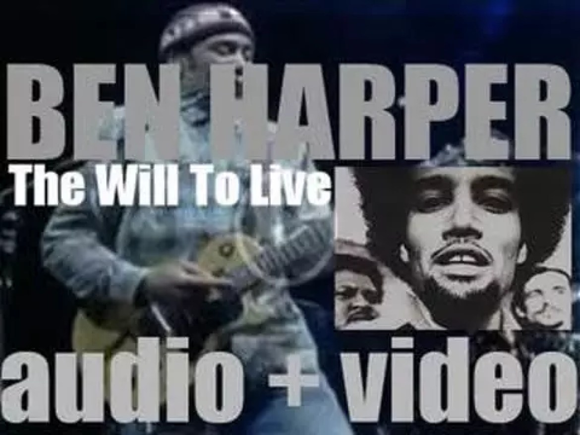 Ben Harper releases 'The Will to Live,' his second album recorded with the Innocent Criminals (1997)