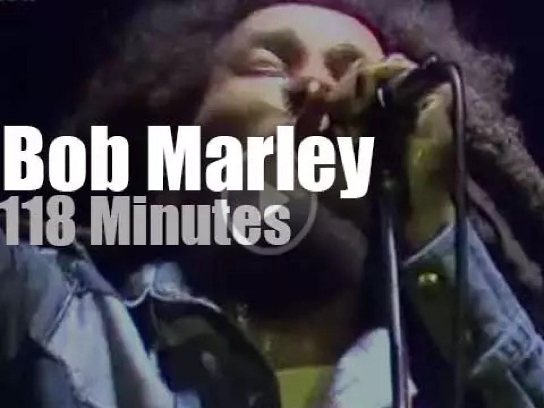 Bob Marley performs in Dortmund (1980)
