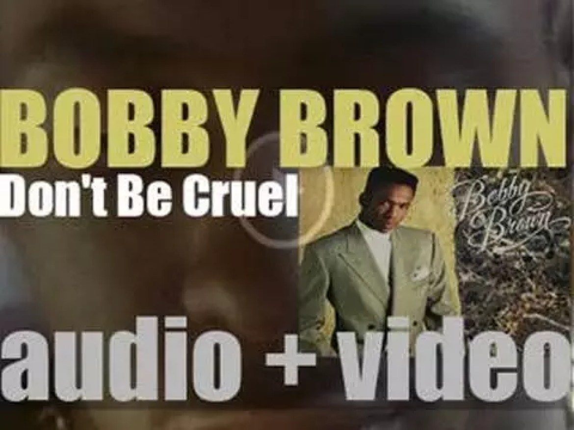 Bobby Brown releases 'Don't Be Cruel,' his second album featuring 'My Prerogative' (1988)
