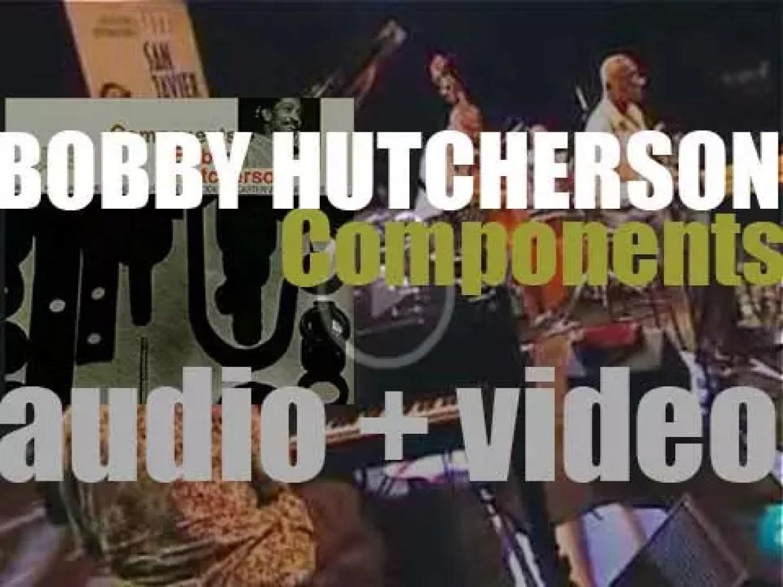Bobby Hutcherson records 'Components' with Freddie Hubbard, Herbie Hancock et al (1965)