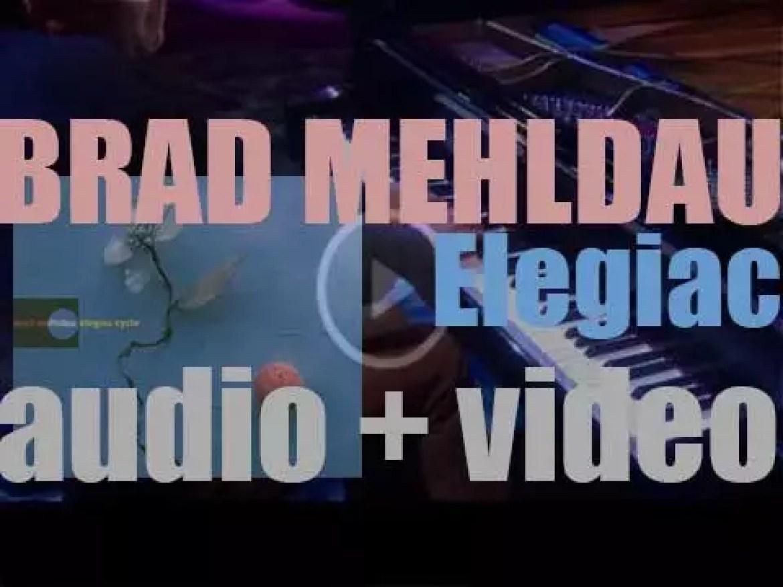 Warner Bros. release Brad Mehldau's 'Elegiac Cycle,' piano solo album (1999)