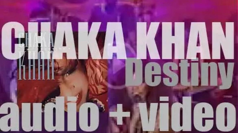 Warner Bros. Chaka Khan's sixth album : 'Destiny' (1986)