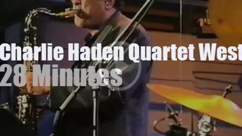 """The Charlie Haden Quartet West is at """"JazzBaltica"""" (1999)"""