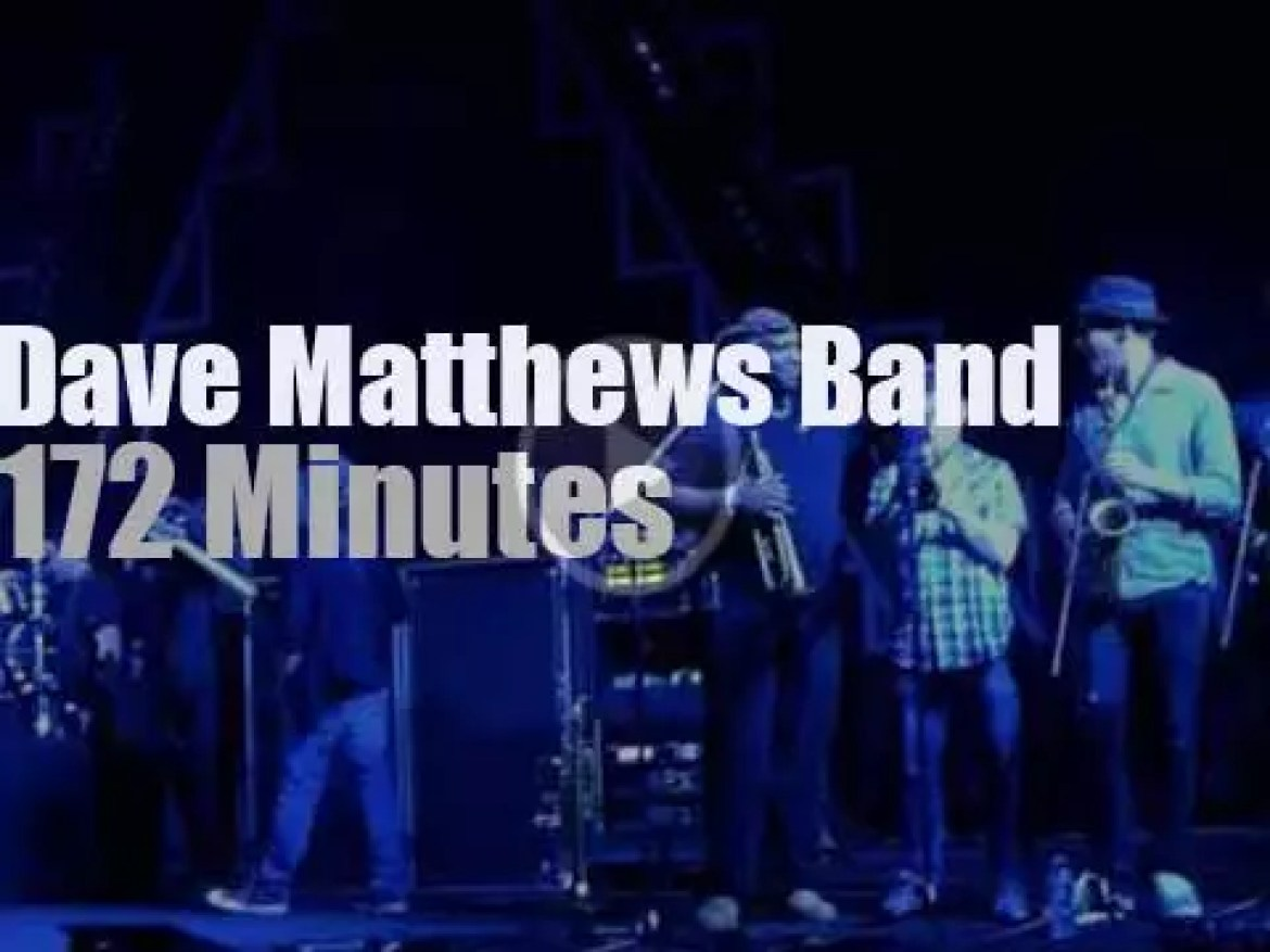 Dave Matthews Band is in Saratoga, NY (2012)