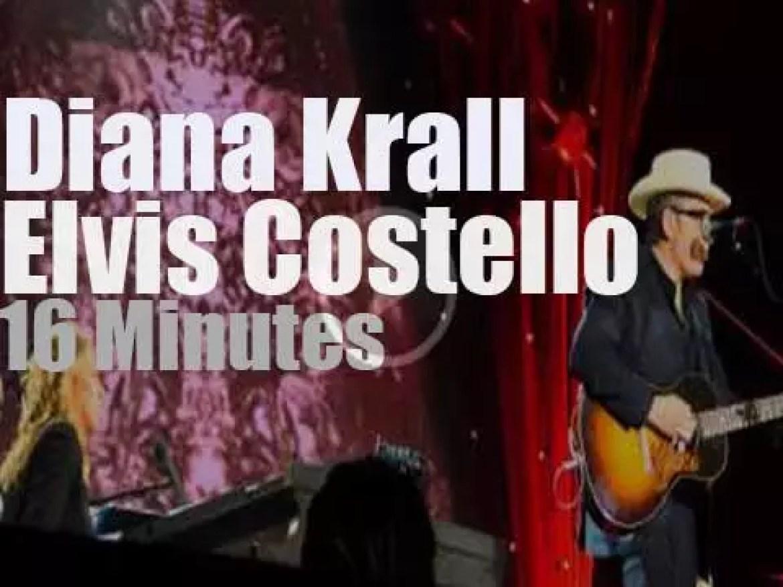 Diana Krall plays in Montreal, then Elvis walks in (2014)