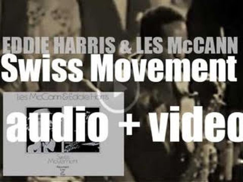 Eddie Harris & Les McCann Trio record 'Swiss Movement' at The Montreux Jazz Festival (1969)