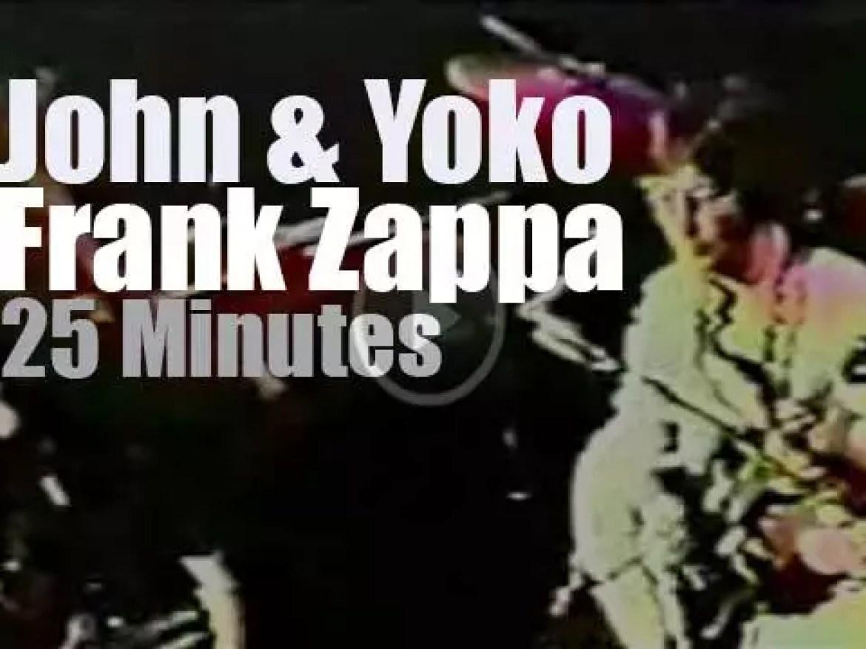 John & Yoko and … Frank Zappa (1971)