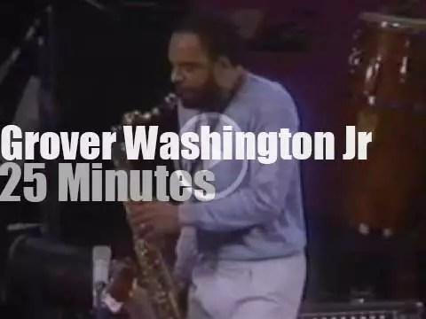 Grover Washington Grooves In Philadelphia 1981 Rvm