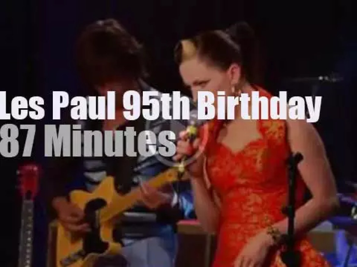 Imelda May, Jeff Beck et al pay tribute to Les Paul (2010)