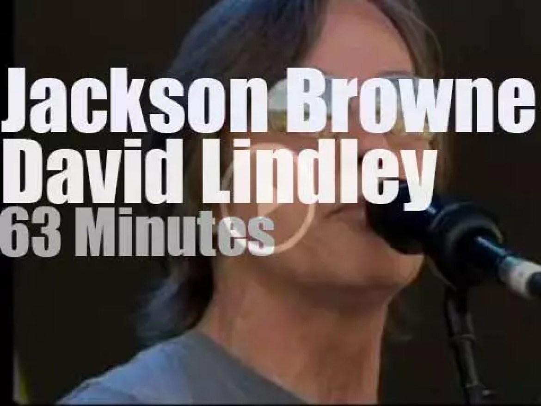 Jackson Browne & David Lindley play Glastonbury (2010)