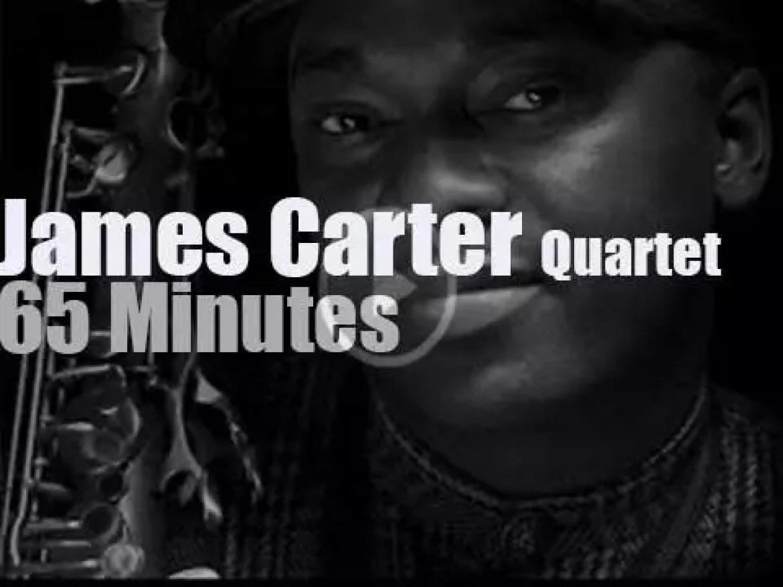 James Carter Quartet plays at Jazz Baltica (1997)